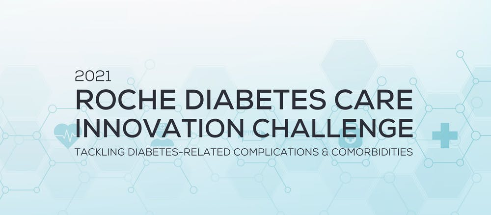 Banner image for 2021 Roche Diabetes Care Innovation Challenge