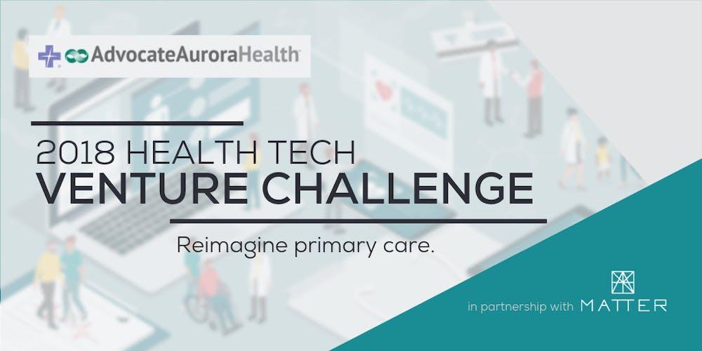 Banner image for 2018 Health Tech Venture Challenge